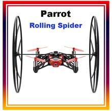 Дви dowellin Лидер продаж Parrot Rolling Spider мини Drone автомобиля WI-FI Радиоуправляемый квадрокоптер 4ch 6 оси гироскопом контролируется Iphone/ iPad Android