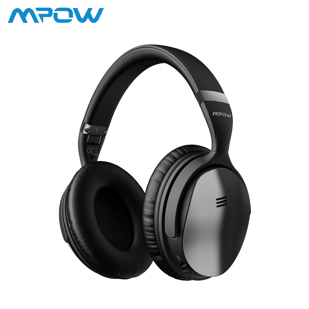 Mpow H5 Foldable Noise Cancelling Headphones Super Quality Sound HiFi Stereo Over Ear Headsets Portable Wireless