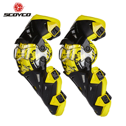 Scoyco Motorcycle Knee Pad Men Protective Gear Knee Gurad Knee Protector Rodiller Equipment Gear Motocross Joelheira Racing Moto