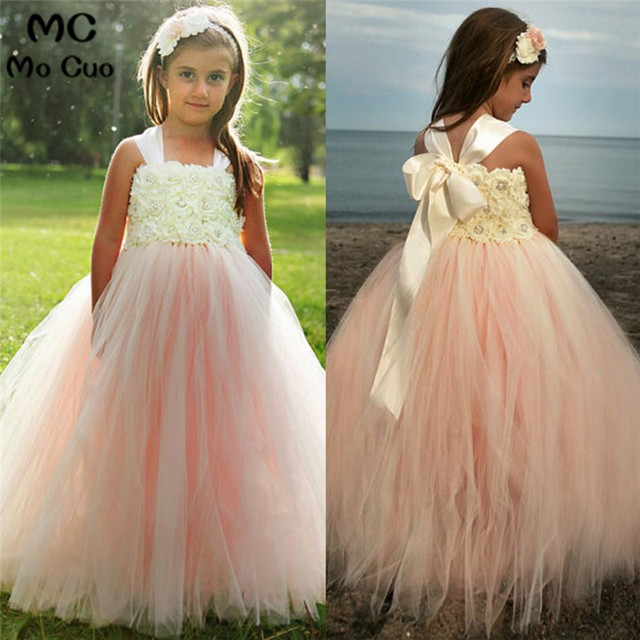 002f853a4 Ruffles 2018 Lovely Ball dresses for girls 10 12 first communion ...