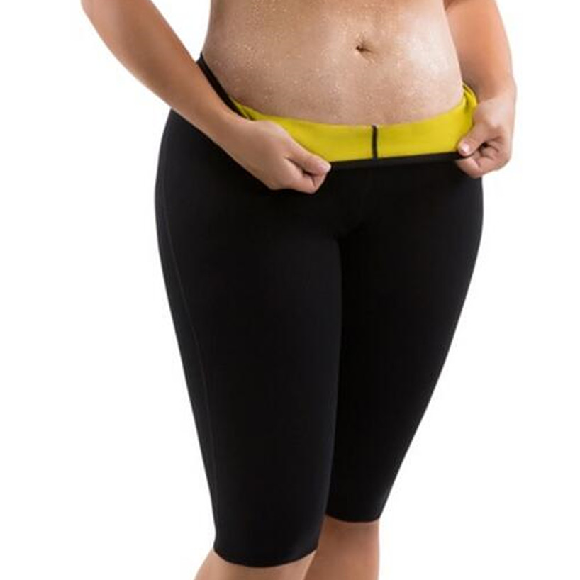 bb9a003e102 Women s Hot Body Shapers Plus-Size Weight Loss Compression Slimming Pants  Slimming Shorts Hot Thermo Neoprene Sweat Sauna Shaper