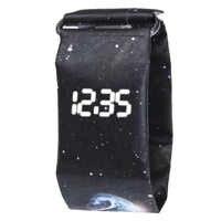 Hot Paper Watch Creative Trend LED Wristwatches Men Women Kids Waterproof Wrist Band Digital Watches Student Sport Watches reloj