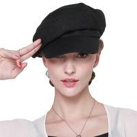 Korean Fashion Summer Sun Hat Women's Fashion Sunscreen Cap Lady Fashion Outside Travel Hat Beret Peaked Cap B 7304