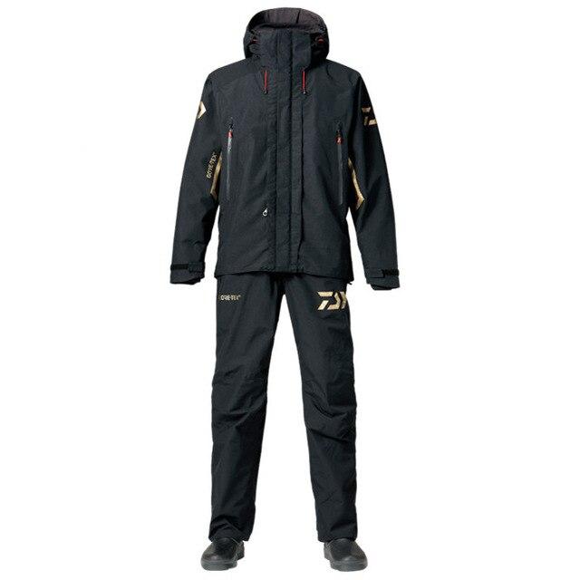 高品質釣り服セット男性通気性アウトドアスポーツウェアスーツ冬釣りシャツとパンツダイワ B08  グループ上の スポーツ & エンターテイメント からの ハイキング シャツ の中 1
