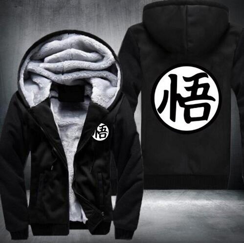 NEW Anime Dragon Ball popular Thicken  man Sweatshirt Hoodie USA Size free shipping sweatshirts men fashion hoodie streetwear
