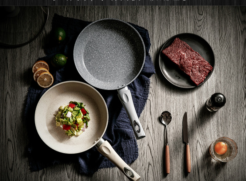 Pan steak pot small pancake fry pan cooker non-stick cookware Frying pan saucepan general use for gas and induction cooker