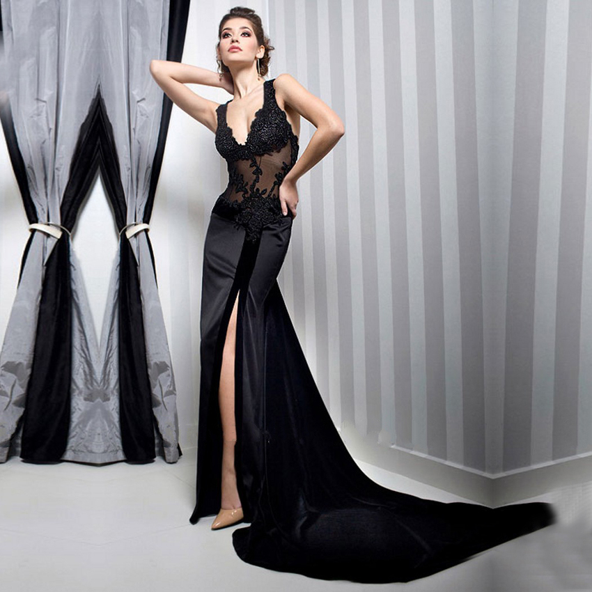 Abito lungo elegante a sirena – Modelli alla moda di abiti 2018 5aa48b54d8d