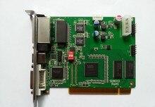 Cartão de envio de linsn ts802d, cartão de envio de linsn ts802 da exibição de vídeo do diodo emissor de luz da cor completa