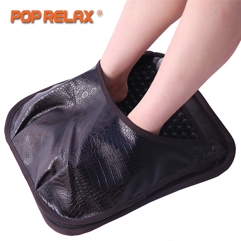 POP RELAX NUGA BEST NM55 Second Heart Foot Acupuncture Massage Mat Ion Korea Tourmaline Germanium Mattress Heating Pad Massager pop relax healthcare korea germanium tourmaline jade mattress electric heating therapy massage mat pad cushion nuga best ceragem