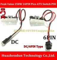 DC 12 В 160 Вт (пиковое значение 250 Вт) 24PIN Пико ATX выключатель БП авто мини ITX DC к DC PSU DC ATX силовой модуль ITX Z1 обновления