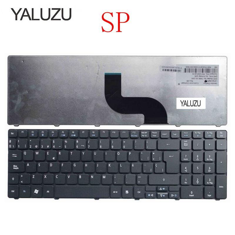 YALUZU Spanish Keyboard for Acer 5253 5333 5340 5349 5360 5733 5733Z 5750 5750G 5750Z <font><b>5750ZG</b></font> 5250 5253G emachines e644 SP 5740G image