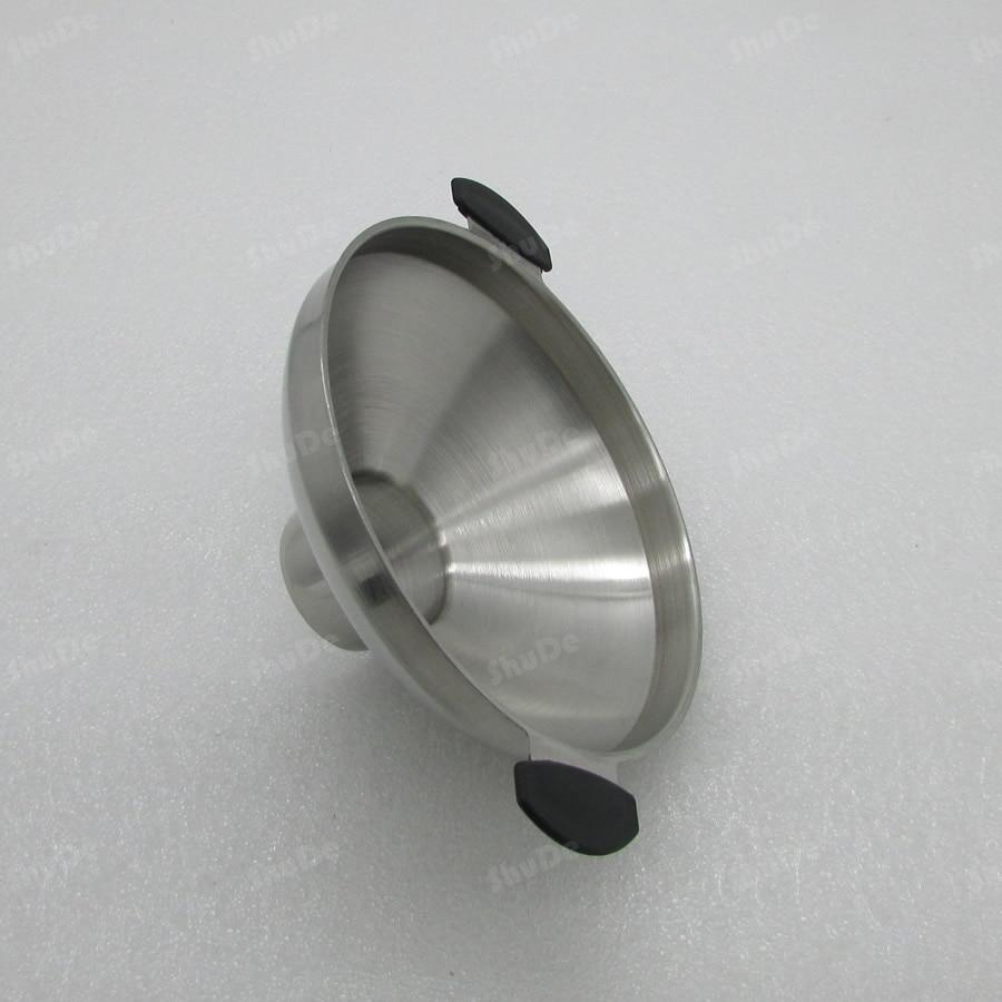 Nálevka z nerezové oceli s velkým hrdlem o průměru 304 z nerezové oceli