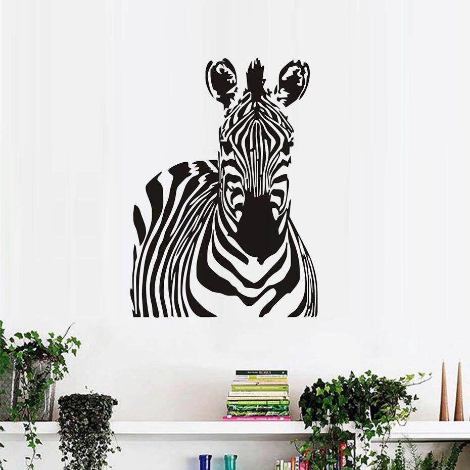 Kualitas Hewan Dekorasi Rumah Buatan Tangan Zebra Sh051high Karya Gambar