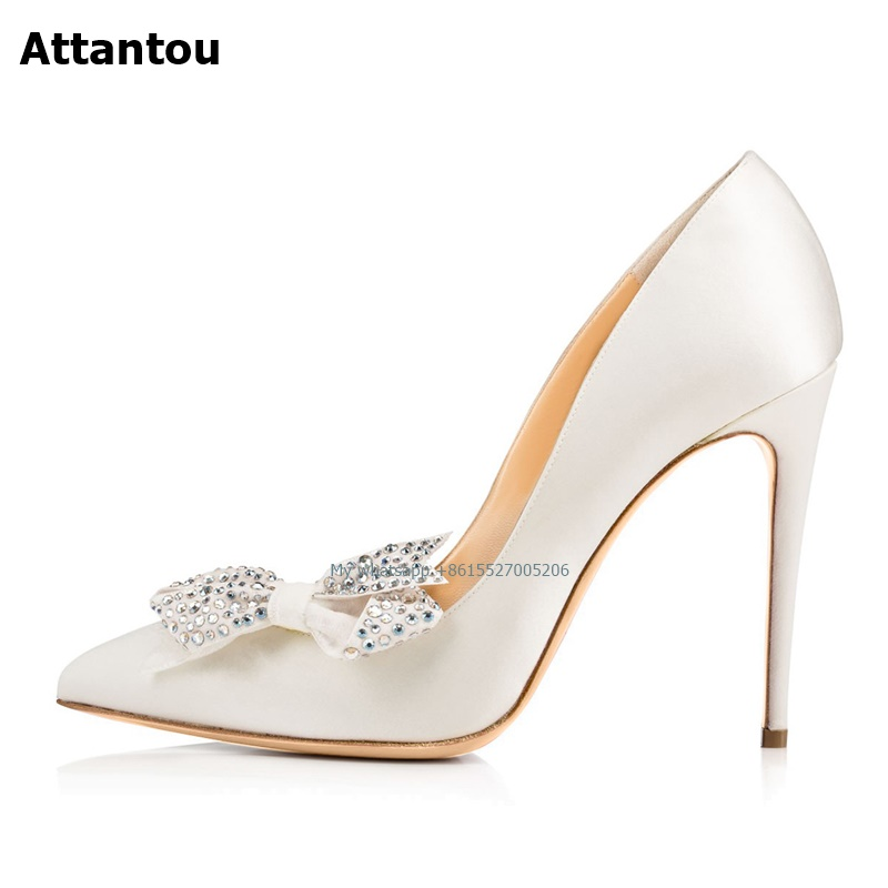 Fashion 2019 NEW Rhinestone Shoes with 11cm Thin High Heel Stiletto Shoes for spring autumn pointed toe leather ShoesFashion 2019 NEW Rhinestone Shoes with 11cm Thin High Heel Stiletto Shoes for spring autumn pointed toe leather Shoes