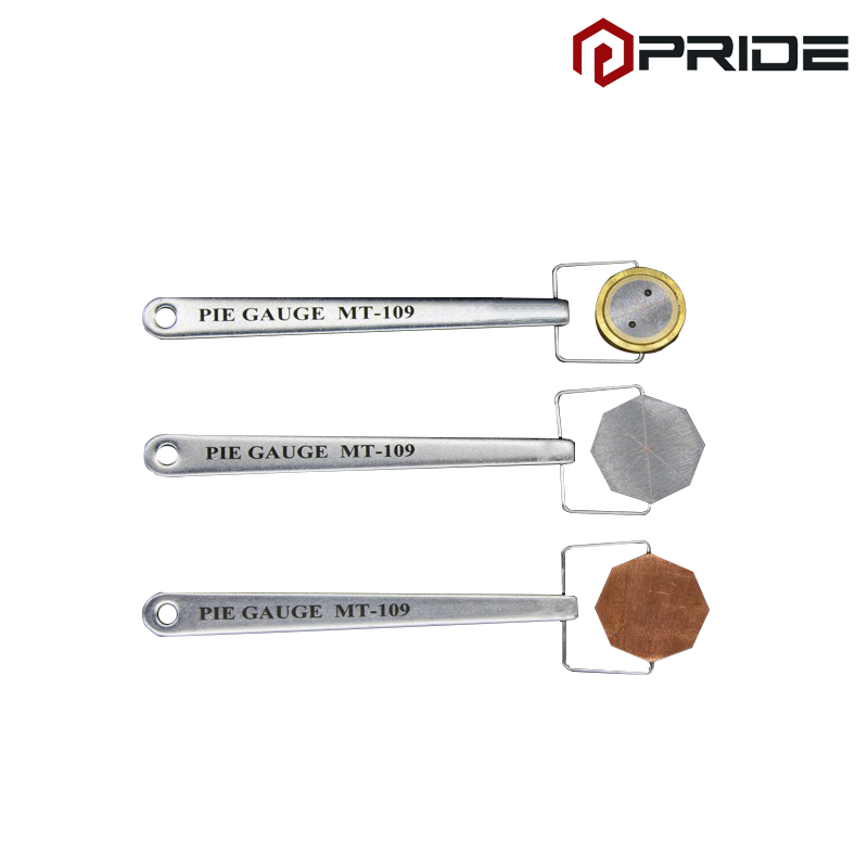 Pie Gauge 3pcs magnetic particle testing