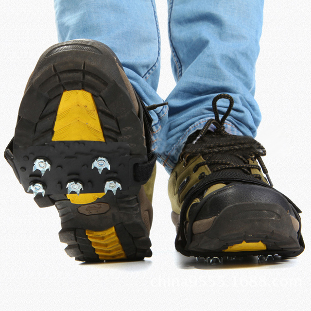 schoenen Gripper Antislip Klimmen Stijgijzers paar Ice 1 Outdoor 0PknOX8w