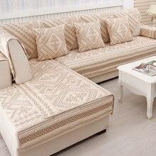 Хлопок вышитые диван охватывает диван Полотенца плед Four Seasons диванная подушка Европейский кожаный диван Чехол для Гостиная