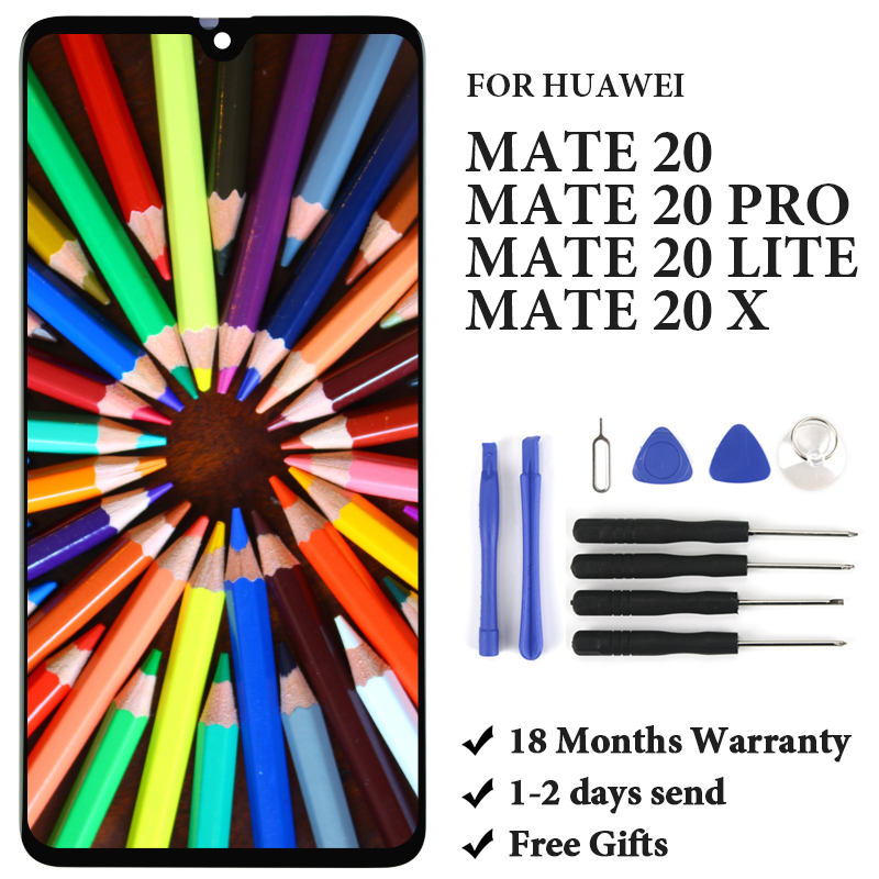 OEM High Quality Display For Huawei Mate 20/ Mate 20 Lite/ Mate 20 Pro/ Mate 20 X LCD Touch Screen Assembly Replacement Parts