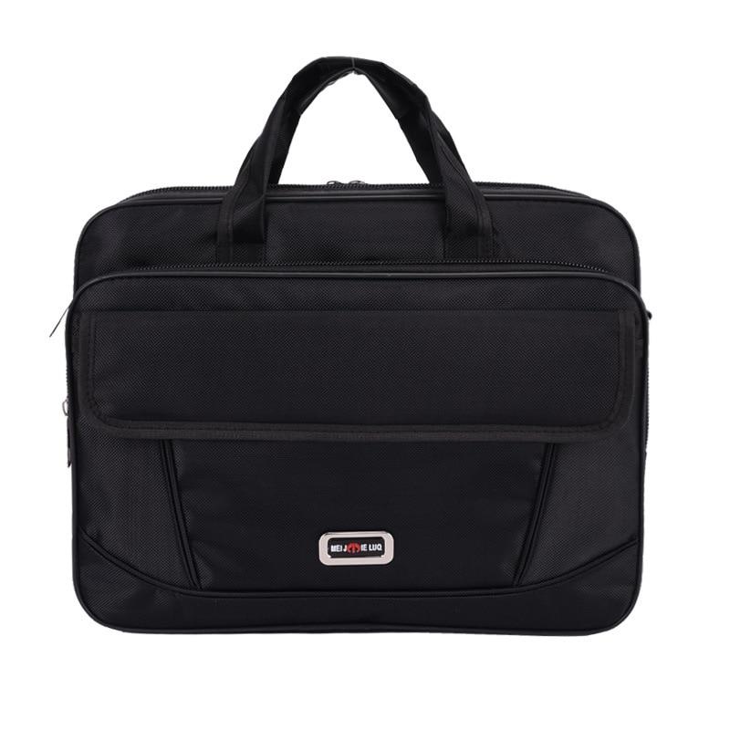 Waterproof Business Briefcase Laptop Bag OxfordMulti-function Handbags Portfolios Man Shoulder Travel Bags Bolsa Masculina
