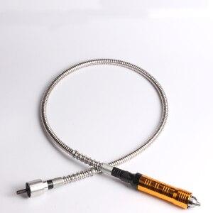 Image 5 - 6mm szlifierka rotacyjna giętki wałek pasuje + 0 6.5mm rękojeść dla stylu elektryczne wiertarki akcesoria narzędzie Dremel obrotowy