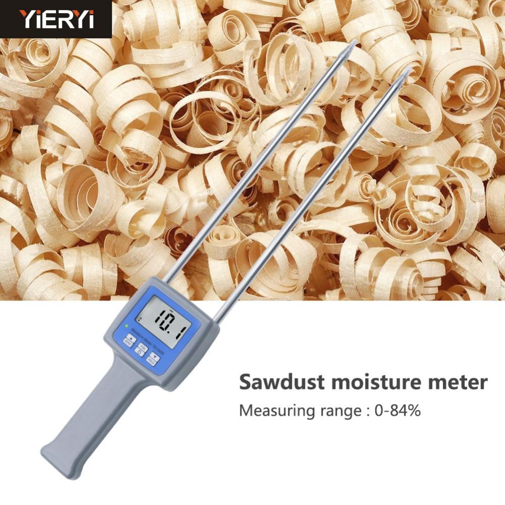 TK100W High-precision Professional Wood Sawdust Powder Hay Bale Peat Moisture Meter Hygrometer