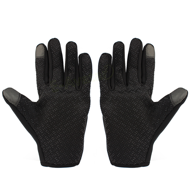 1 Pair Top Selling Motorcycle Gloves Riding Glove Ski Gloves Touch Screen Windstopper Warm Full Finger For Winter Sport 3
