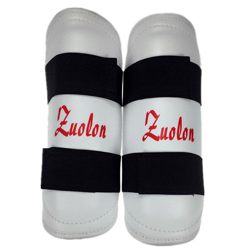 1 пара тхэквондо щитки caneleira ногу защитные щитки удары в боксе Муай Тай карате Санда ММА взрослых детей хвостовик гвардии
