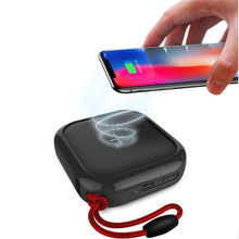 MIPOW QI Wireless Charger Power Bank 10000mah 5V 2A Type C Dual USB External Battery Powerbank
