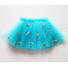 floral tutus girl tulle soft nylon tutu baby girl flower fashion holiday tutu skirts girl wholesale tutus skirts for kids