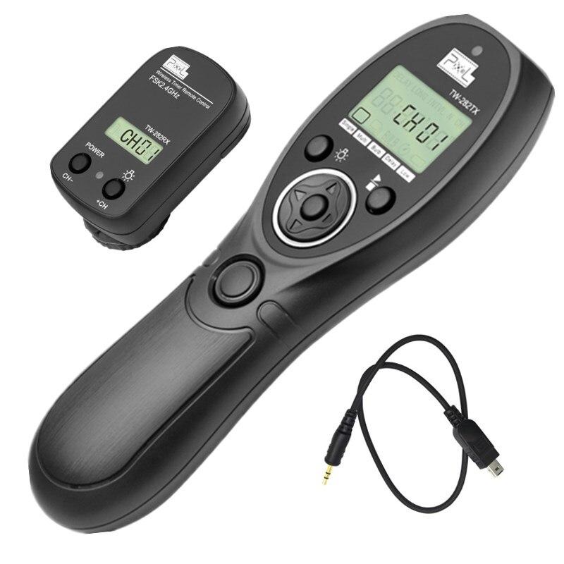 Pixel TW-282 DC2 Wireless Timer Remote Control Shutter Release for Nikon D3100,D3200,D3300,D5000