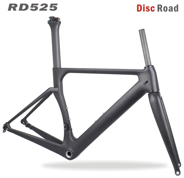 MIRACLE Bikes 2017 Aero Disc Carbon Road Frame 142*12mm Cadre ...