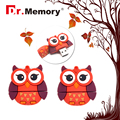 USB flash drive cartoon red owl 16G pen drive 8G pendrive 4G flash card usb 2.0 2G flash memory stick 64GB OEM U disk