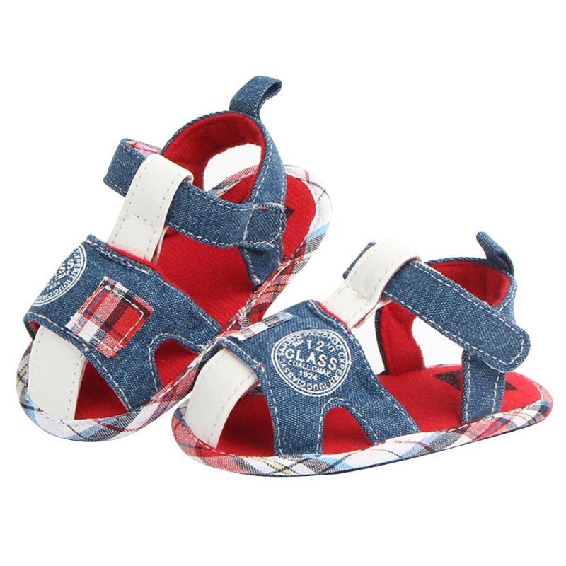Summer Fashion Baby Prewalker Boys Toddler Soft Sole Indoor Shoes First Walkers Crib Pram Soft Soled Shoe