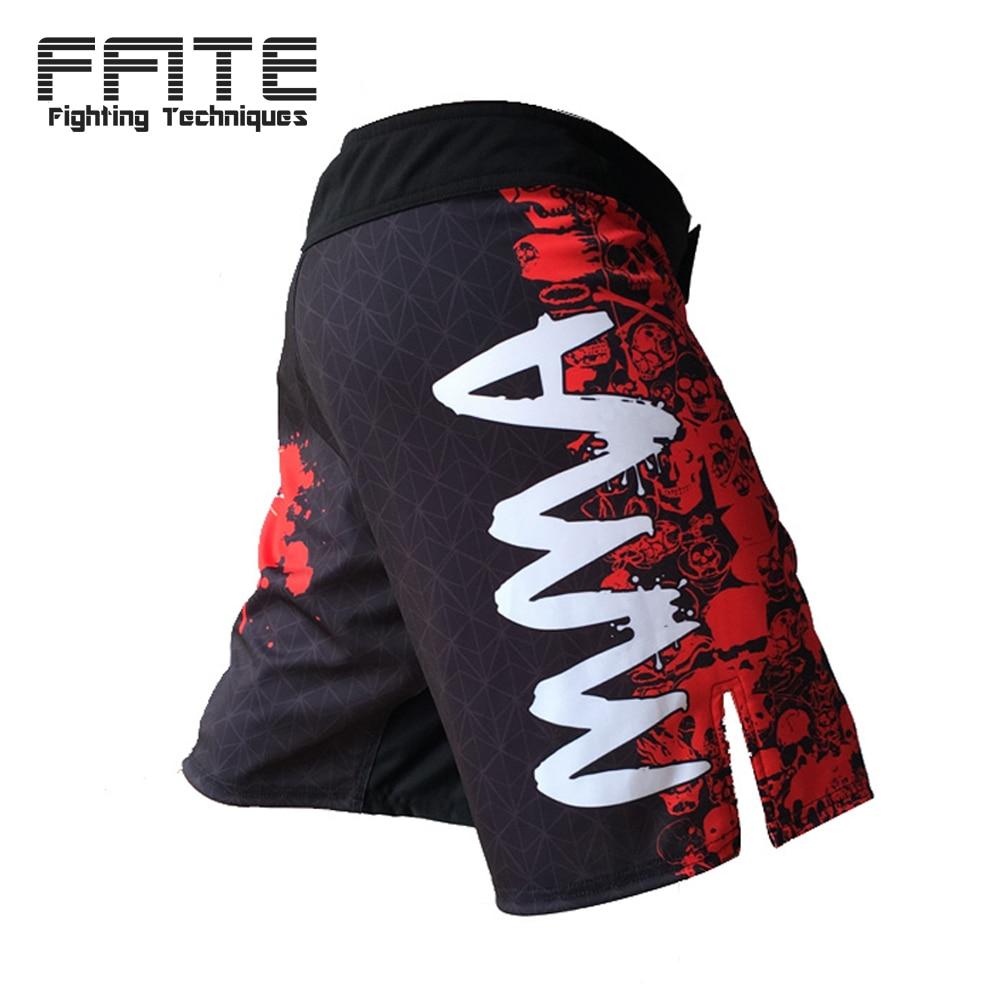 FFITE Férfi nadrág MMA rövidnadrág férfiak férfiak Harc Rövid - Sportruházat és sportolási kiegészítők - Fénykép 2