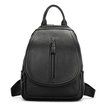 Здесь можно купить  YILIAN Backpack Bag student bag lady 2017 lady Genuine leisure travel backpack capacity Cowhide mummy bag  6063  Backpacks