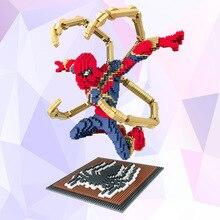 Marvel Avengers 4 Movie Legoings Spiderman Spider-mam Building Blocks Toys