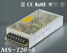 120W 5V 24A Mini size LED Switching Power Supply 5v transformeac dc suply adjustable voltage MS-120-5