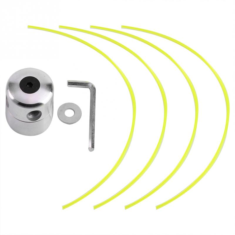 Universal Aluminium Alloy Strimmer Trimmer Head String Set for Gasoline Grass Brush Cutter