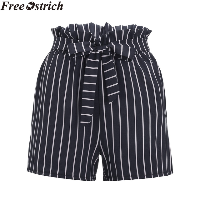 Summer Loose Casual Stripped Sports Shorts