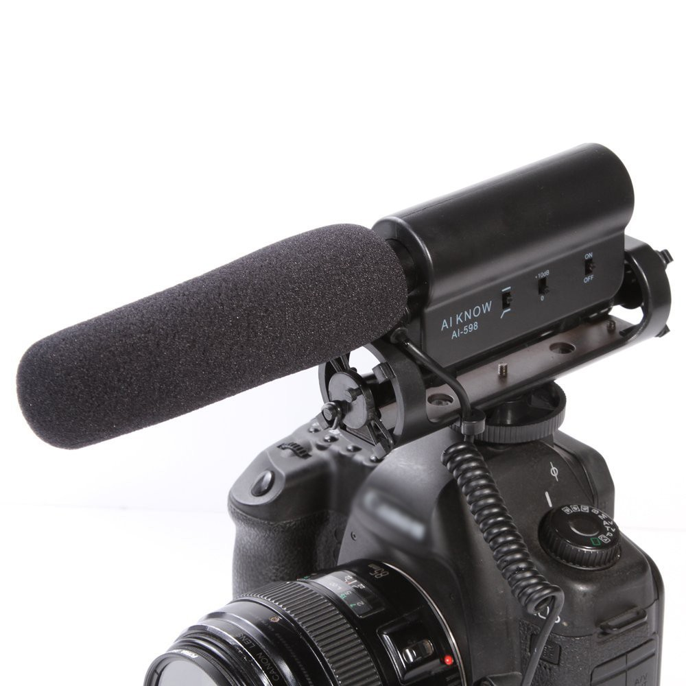 Camera Dslr Camera For Video Recording compare prices on dslr video recording online shoppingbuy low aikonw ai 598 photography shotgun condenser interview universal camera record dv mic