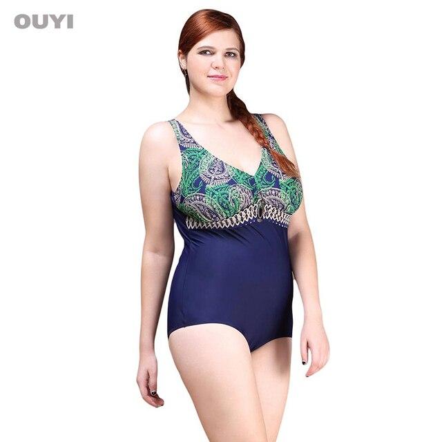 953f74b7a56 One Piece Swimsuit 2018 Vintage Plus Size Swimwear Women Noble Loops Beach  Bodysuit Look Slim Decorations Halter Bathing Suit