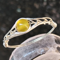 """925 Sterling-Silver-Jewelry Rings For Women Female Ring With Stone Natural Agate Gemstone Rings For Girls Handmade """"GRB Ring"""""""