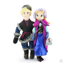 Disney Toys 2015 New Arrival Cute Cartoon Frozen 50Cm Anna Princess Dolls 55Cm Kristoff Dolls Brinquedos Toys Ty033