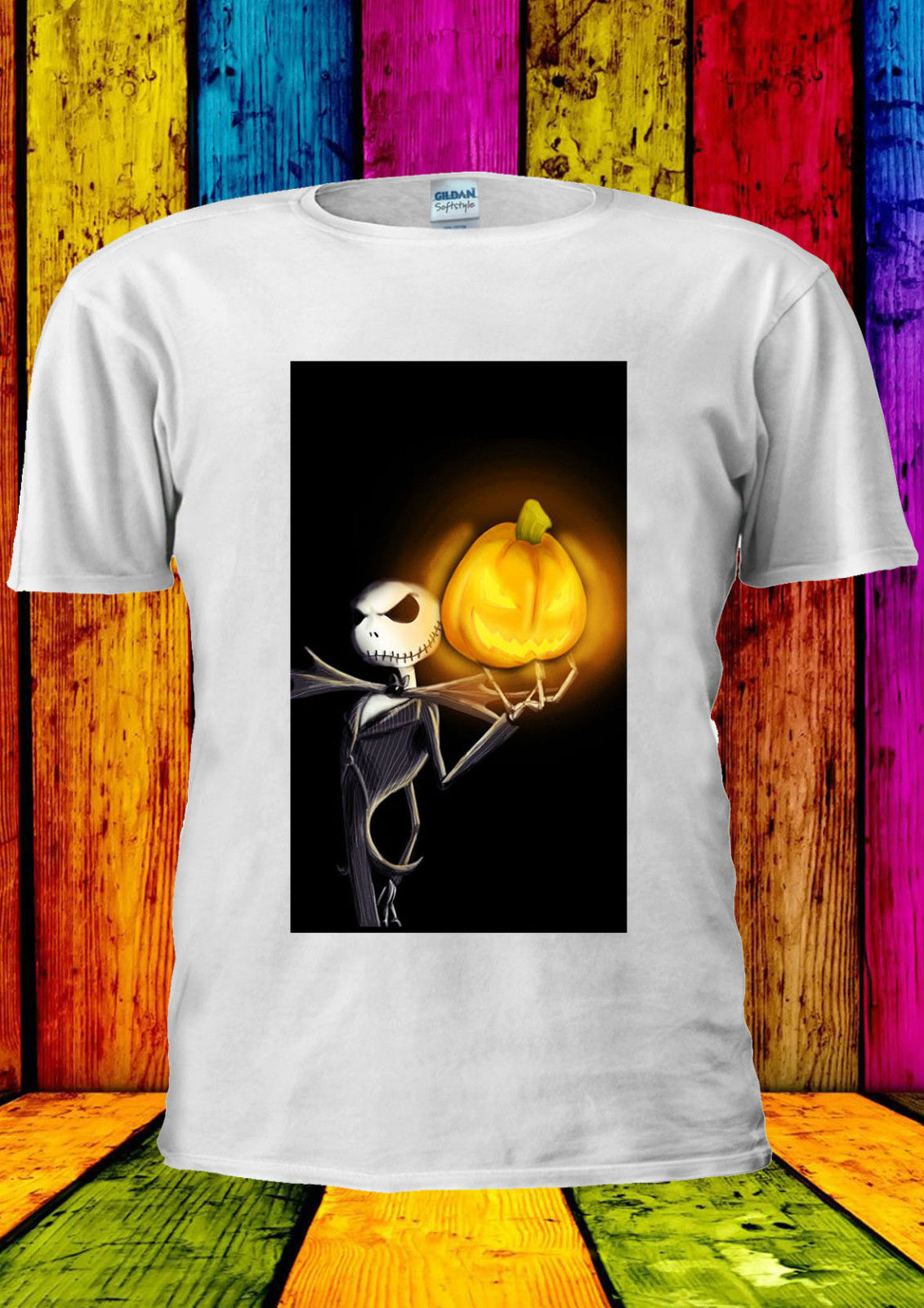 Nightmare Before Christmas Jack Fear T-shirt Vest new Top Men Women Unisex 326