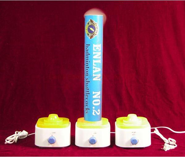 Humidifier Badminton Shuttlecock Steam Air Making the Battledore 3 times Durable with one World Travel Plug