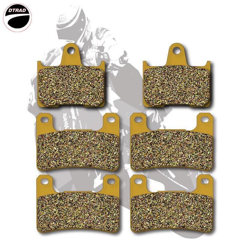 Motorcycle Brake Pads Front+Rear For SUZUKI GSXR 600 04-05 GSXR 750 04-05 GSXR 1000 04-06 magnetic oil drain sump plug m14 x 1 25 for suzuki gsxr 600 750 1000