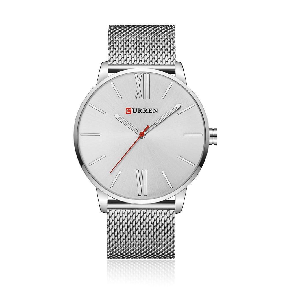 2018 CURREN Brand Watch Ерлер сәнді сәнді бизнес - Ерлердің сағаттары - фото 2