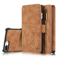 Luxury Retro Wallet Phone Cases For Apple IPhone 7 7plus 6s 6Plus Cover Leather Handbag Bag