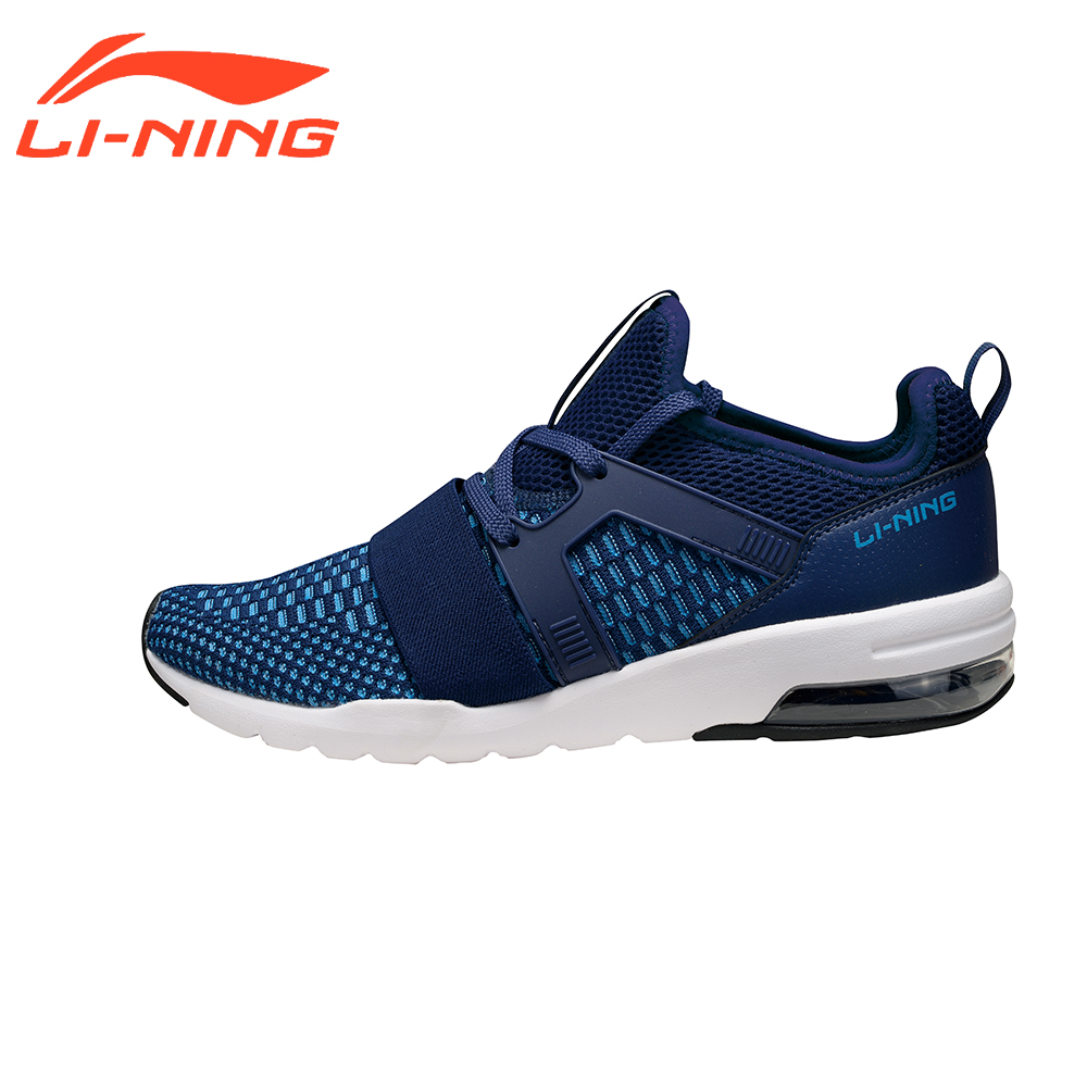 Li-Ning Men's Bubble UP Stylish Walking Shoes Breathable Slip-On Brand Original LiNing Sports Sneakers AGLM001 original li ning men professional basketball shoes