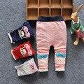 Primavera 2016 Calças de Algodão Meninas Crianças Calças Calças Pequena Nova Onda Coreano Calça Casual